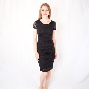 Nicole Miller Atelier Black Sheath Dress P 0275